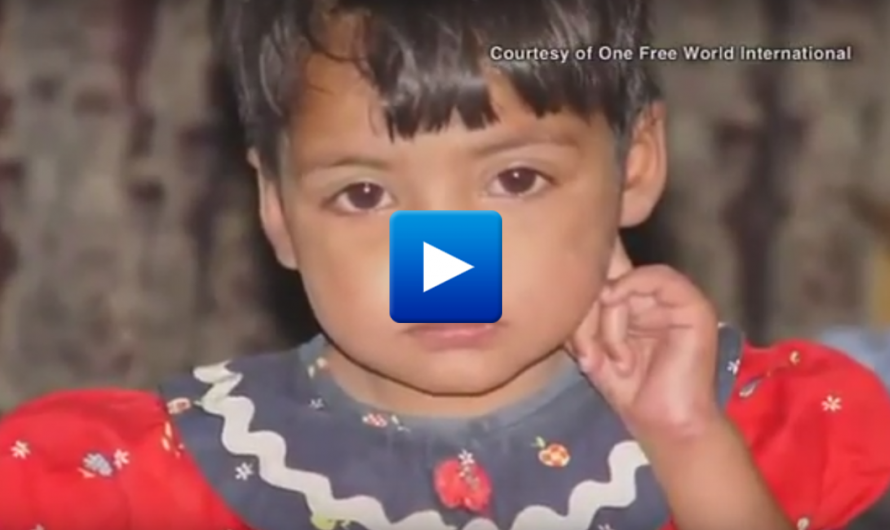 Muslim gang raped this Christian baby girl after her father refused to convert to Islam