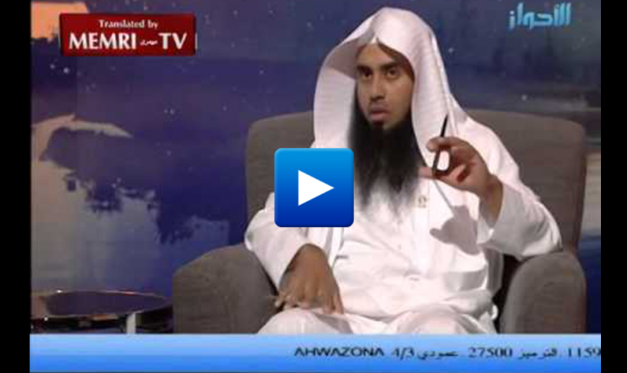 Watch: Saudi imam explains how Social Media Cause Cancer in Muslim Children