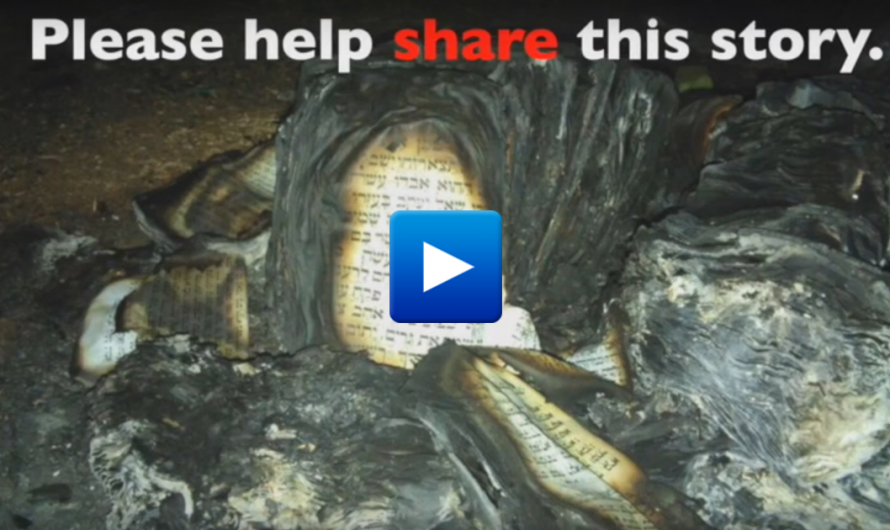 Watch: Palestinian Muslims burn a Jewish synagogue but The world has ignored this story