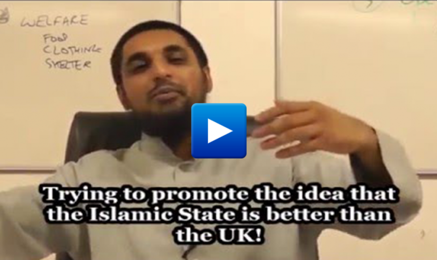 Watch: British imam says that ISIS has a better welfare system than the UK
