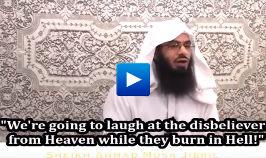 """American imam """"There is a window in heaven, dead Muslims can look at the infidels burn in Hell"""""""
