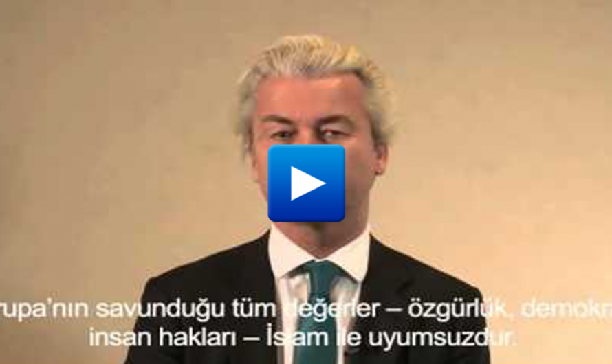 """Geert Wilders has a powerful message to Turkish Muslims """"You do not belong to Europe"""""""