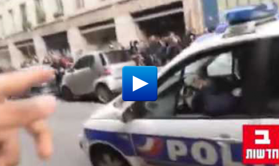 "Muslims and anarchists attack police in Paris protest against ""police violence"""