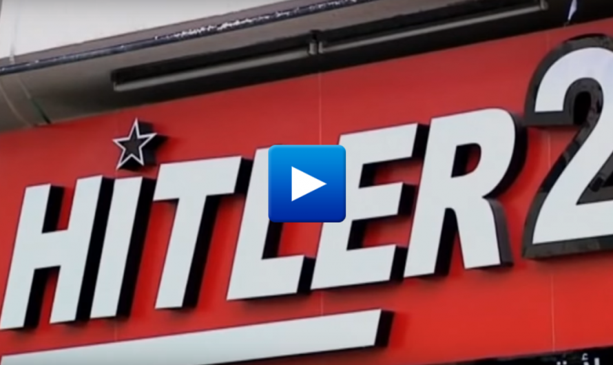 "Watch: The Most popular shop in the West Bank called Hitler ""because he hated the Jews"""