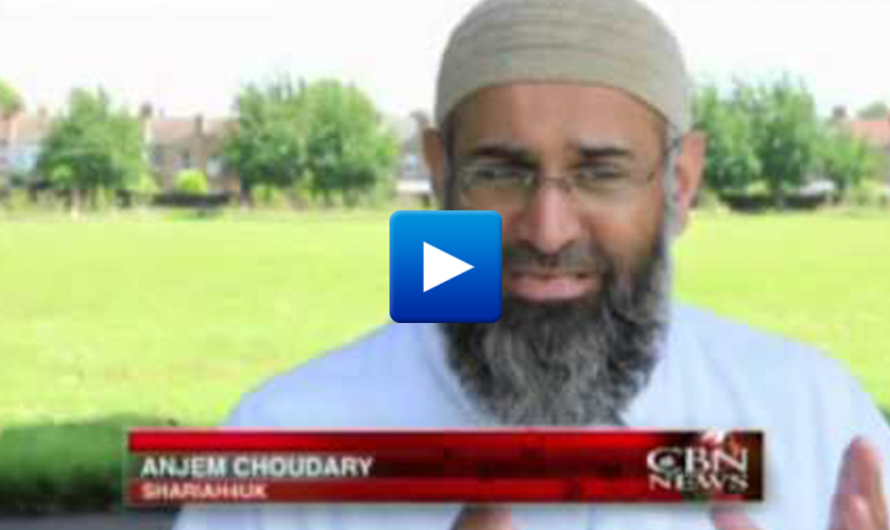 "Watch: ""We want to see Britain becoming an Islamic state ruled by Sharia law"""