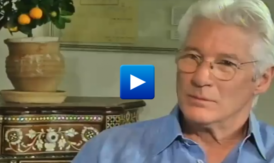 "Hollywood Strikes Again: Richard Gere lashes out at the Israeli people, ""Trump & Netanyahu are bad guys"""