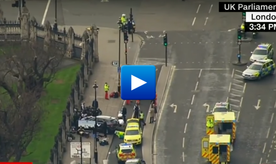 "Watch: Muslims celebrate the terrorist attack in London ""Allah curse the infidels"""