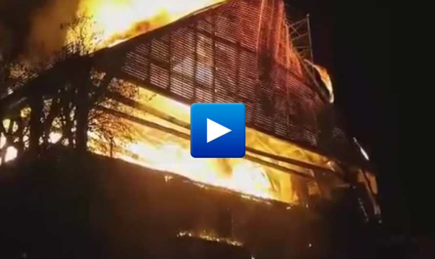 """Breaking news! Flames tear through Europe's oldest mosque in Greece – Muslims cry """"Islamophobia"""""""