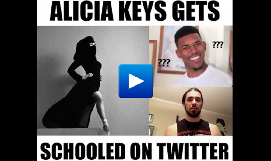 """Alicia Keys embraces Islamic oppression of women then Gets Schooled by Middle Eastern women """"we have no choice"""""""