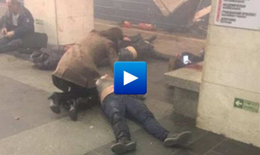 Breaking news! Terror attack at St Petersburg Metro Station in Russia