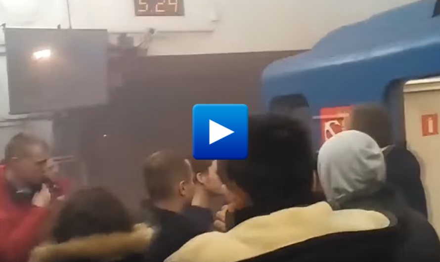 Watch: Dramatic moments after Bomb blast at Russia's St. Petersburg Metro train station
