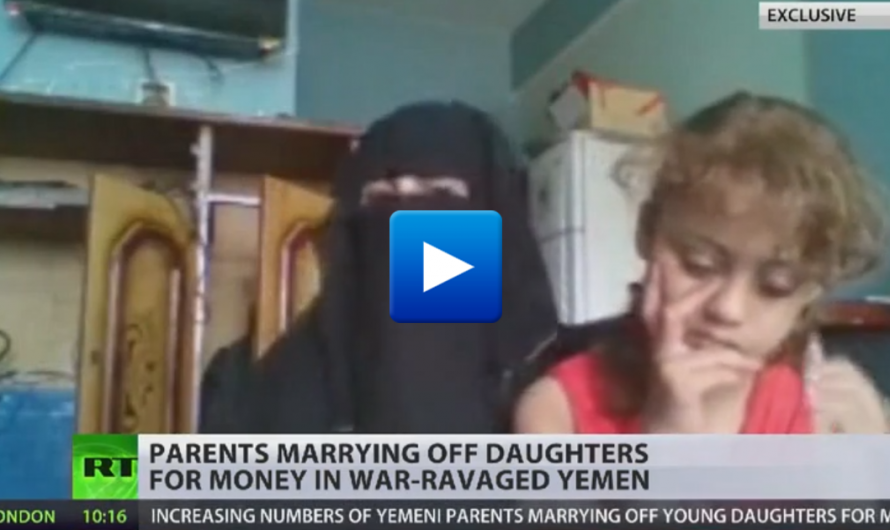Watch: Muslim father forcing his 10-year-old daughter to marry a 70-year-old Muslim Imam