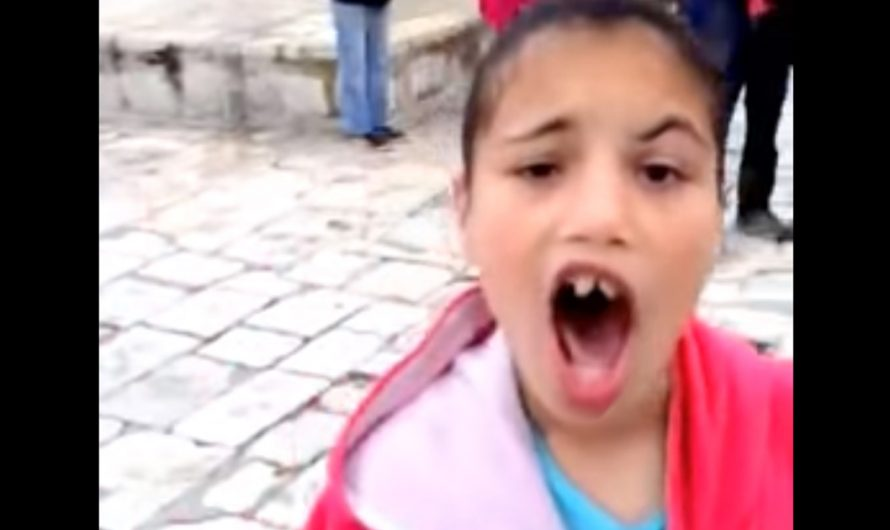 Watch: Muslim girl ,9, terrorizes Jews in Jerusalem while her mother laughs & cheers