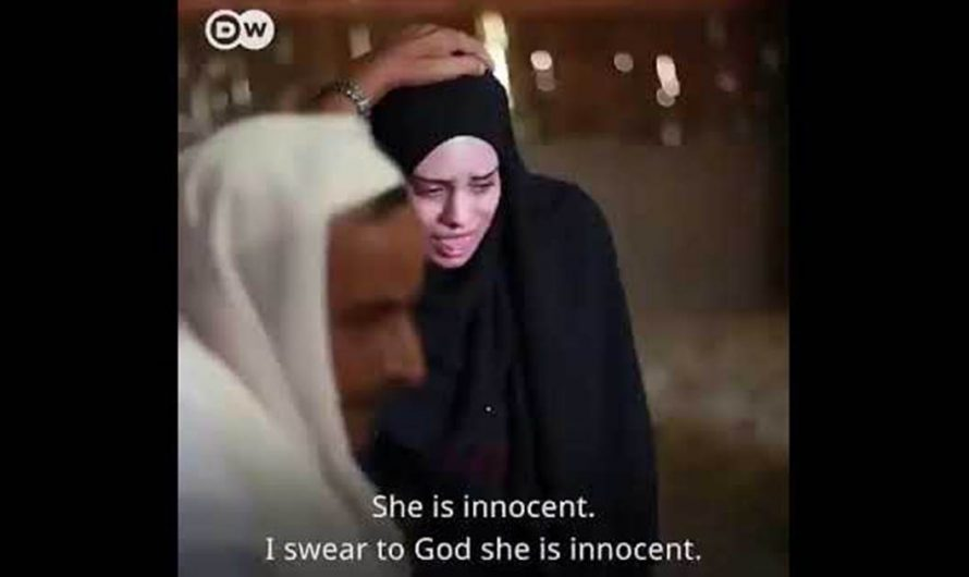Watch: Muslim imam shoves Shovel into the face of crying Muslim girl after she was accused of lying