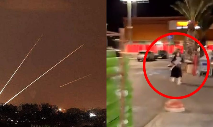 Watch: Missiles are intercepted in southern Israel as Palestinian terrorists try to murder Jews for Islam's sake