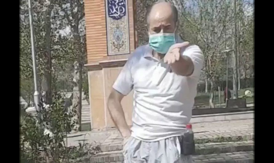 """Watch: Iranian girl cries for help as elderly Islamist teases her dog because Islam says """"dogs are dirty"""""""