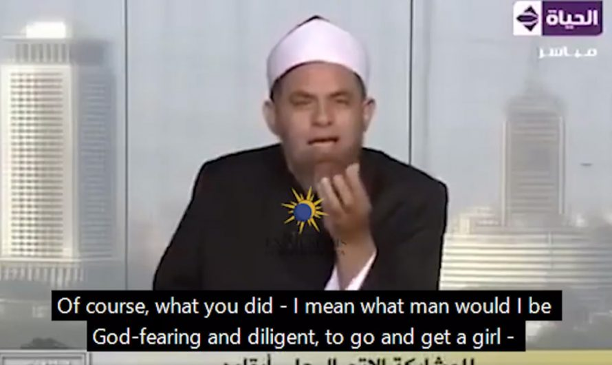 Imam on TV says not-virgin girls should be burned in hell – only the boys will get to heaven