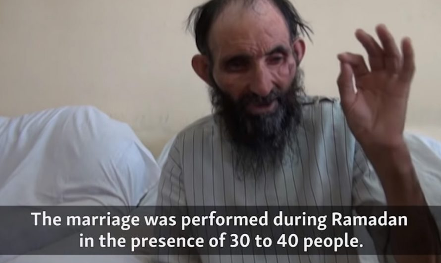 This Afghan Muslim cleric married 6-year-old girl, claiming it is his right