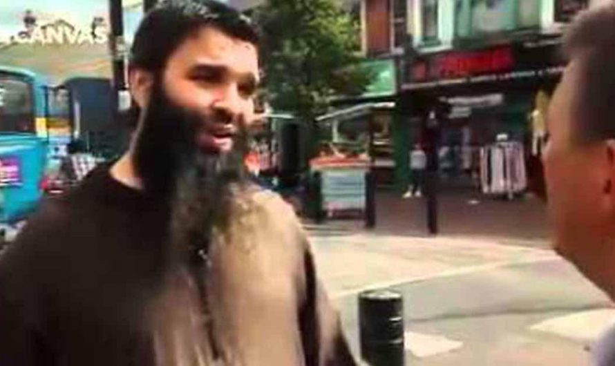 """Muslim tells the British people """"You Force me to live in freedom, I want Sharia, you Should leave"""""""