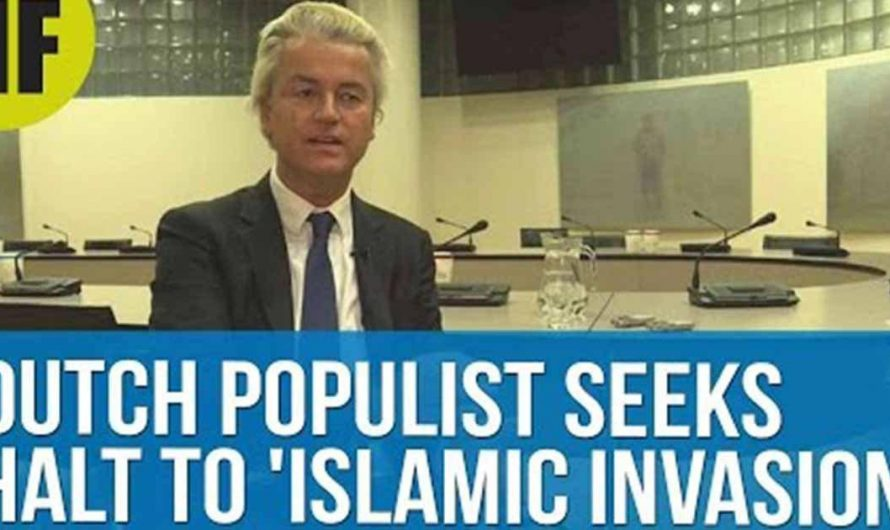 """Dutch MP calls to close the borders and stop """"an Islamic invasion"""""""