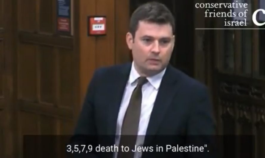 British Parliament was shocked by students calling for genocide of Jews in Manchester