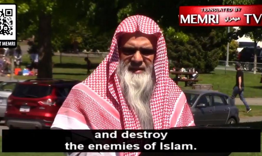 """Canadian Imam says hating Jews is an act of worship """"because of Their Disbelief in Allah"""""""