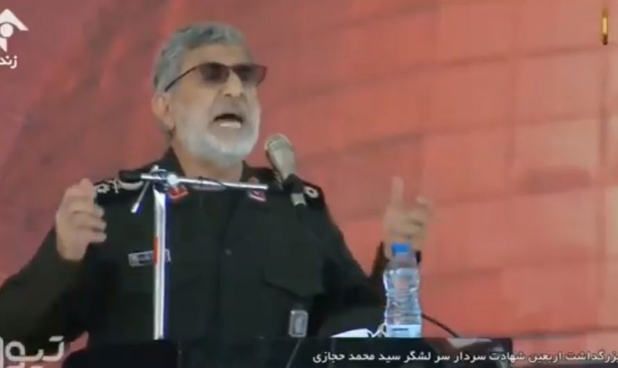 Iranian leader calls on Jews to leave Middle East before Iran annihilates Israel