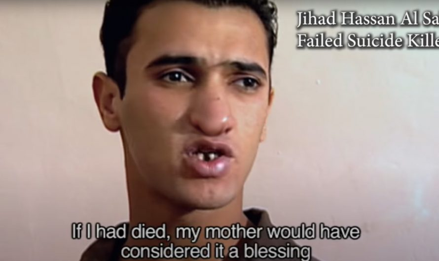 Failed Palestinian suicide bomber says his mother is disappointed he is not dead